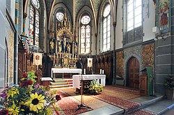 Altarraum St. Laurentius und Agatha