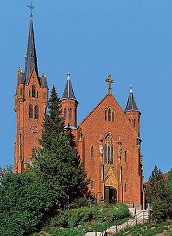 Neugotische Kirche Aßmannshardt