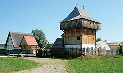 Bachritterburg in Kanzach