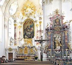 Barockkirche in Sießen