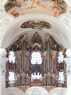 Gabler Orgel in der Basilika