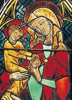 Chorfenster der Klosterkirche