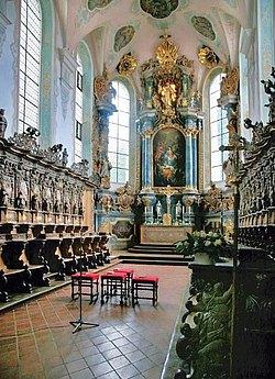 Chorgestühl in St. Magnus