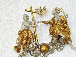 Dreifaltigkeitsdarstellung in St. Vinzenz