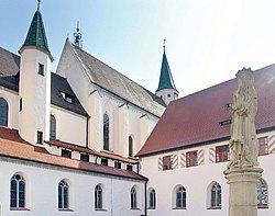 Münster St. Anna mit Klosteranlage