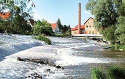 Kraftwek am Donauwehr