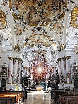 Zwiefalter Münster Innenansicht