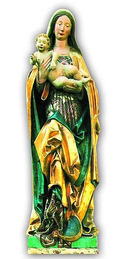 Mutter Gottes auf der Saul