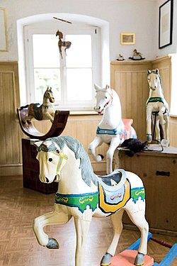 Pferdle im Museum