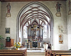 Chor der Wolfgangs-Kirche