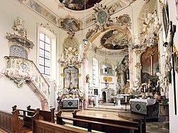 Innenraum - St. Cosmas und Damian