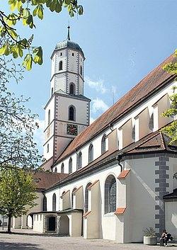 Stadtpfarrkirche St Martin in Biberach