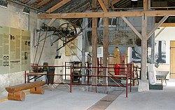 Transmission im Kalkofenmuseum