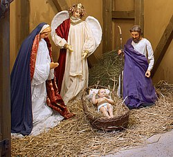 Weihnachtskrippe aus Aachen