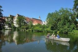 Bootspartie auf der Donau