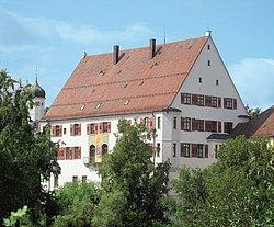 das ehemalige Schloss derer von Speth