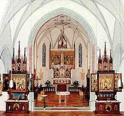 Gotische Altäre in der St. Martinus Kirche