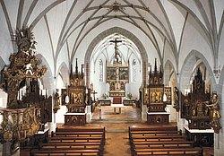 gotischen Flügelaltäre und barocken Altäre