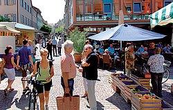 Marktplatz mit Fußgängerzone
