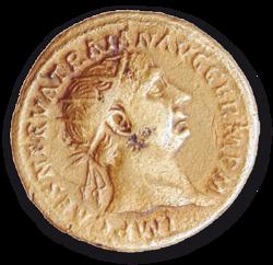 Münze aus der Römerzeit