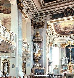 Kanzel in St. Cornelius und Cyprianus