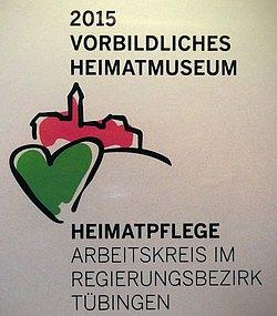 Vorbildliches Heimatmuseum 2015