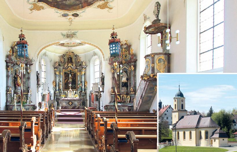 St. Nikolauskirche in Göffingen